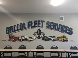 Gallia Fleet Services' Murals