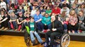 Wheelchair Body Builder Nick Scott Speaks to Area High School Sophomores image
