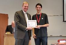 Scholarship Winner Christopher Logan