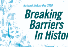 Theme for History Day 2020 Breaking Barriers in History