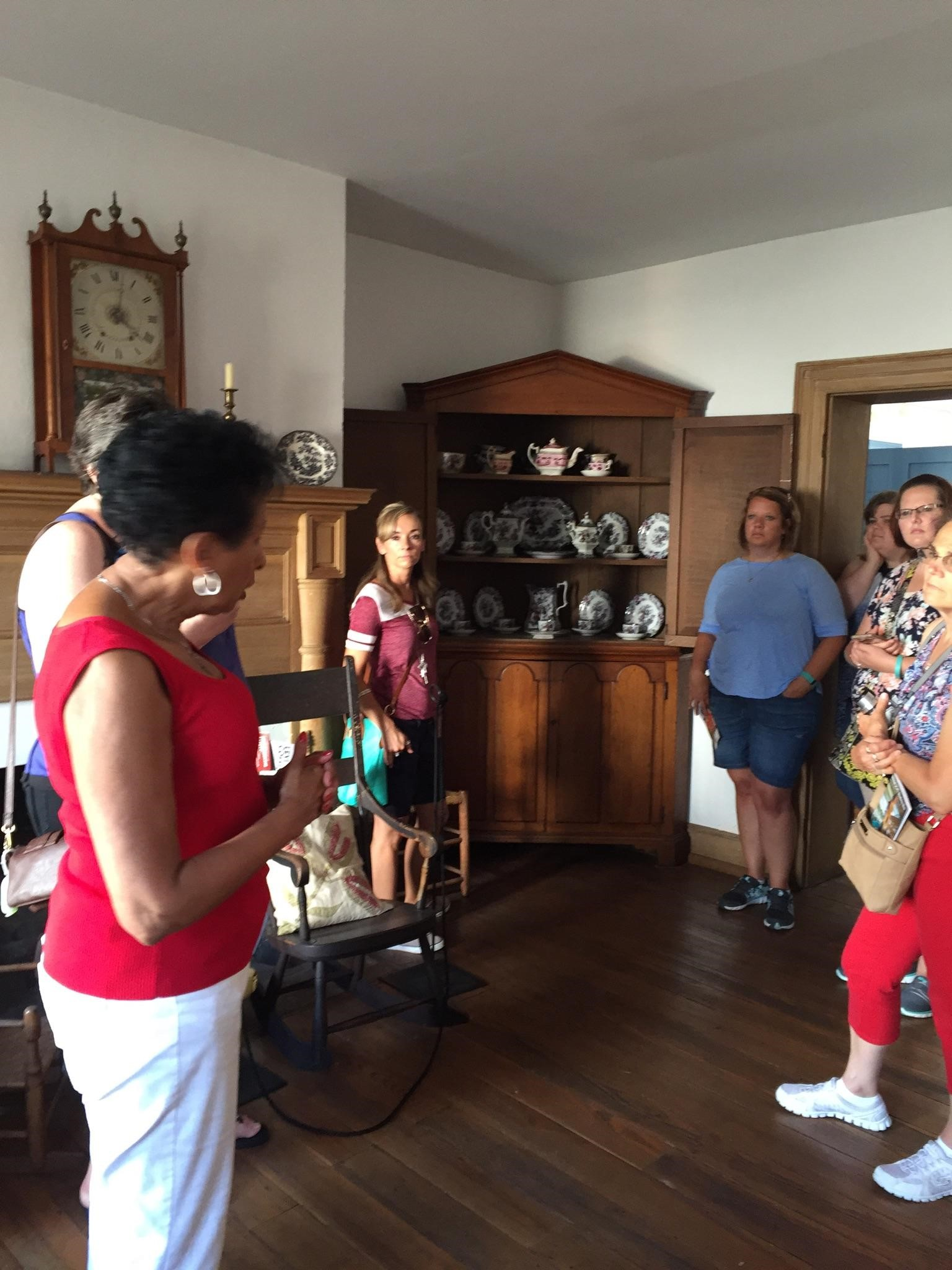 Tour of  Levi Coffin House in Fountain City